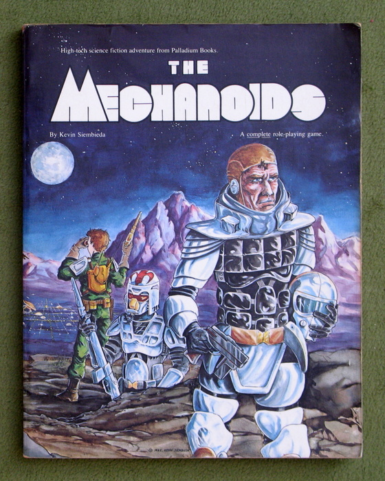 Image for The Mechanoids: Role Playing Game - PLAY COPY