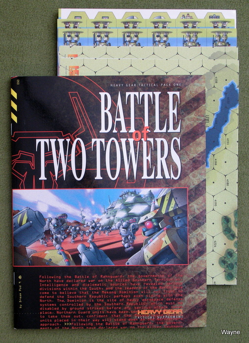 Image for Battle of Two Towers: Tactical Pack 1 (Heavy Gear)