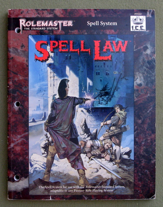 Image for Spell Law (Rolemaster Standard System)