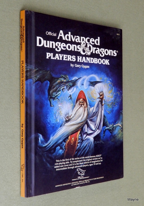 Image for Players Handbook (Advanced Dungeons & Dragons, 1st Edition Revised)