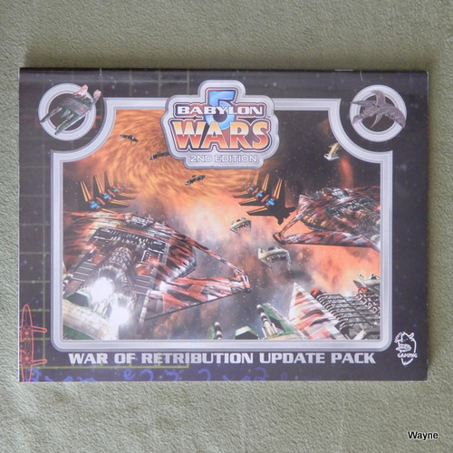 Image for War of Retribution Update Pack (Babylon 5 Wars, 2nd Edition)
