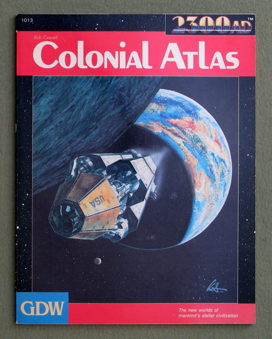Image for Colonial Atlas (2300AD role playing game)
