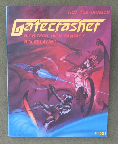 Image for Gatecrasher: High-Tech High Fantasy Roleplaying (1st Edition)