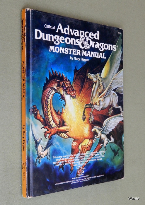 Image for Monster Manual (Advanced Dungeons and Dragons) - PLAY COPY
