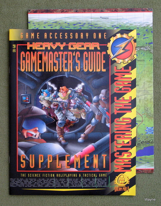 Image for Heavy Gear Gamemaster's Guide: Mastering the Game