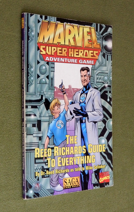 Image for The Reed Richards Guide to Everything (Marvel Super Heroes: SAGA) - PLAY COPY