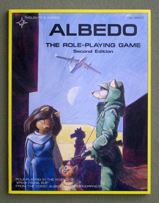 Image for Albedo: The Role-Playing Game (2nd edition)