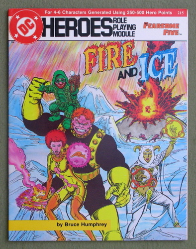 Image for Fire and Ice (DC Heroes RPG)