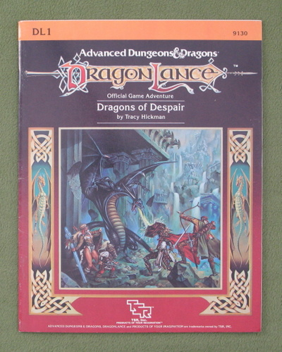 Image for Dragons of Despair (AD&D / Dragonlance module DL1)