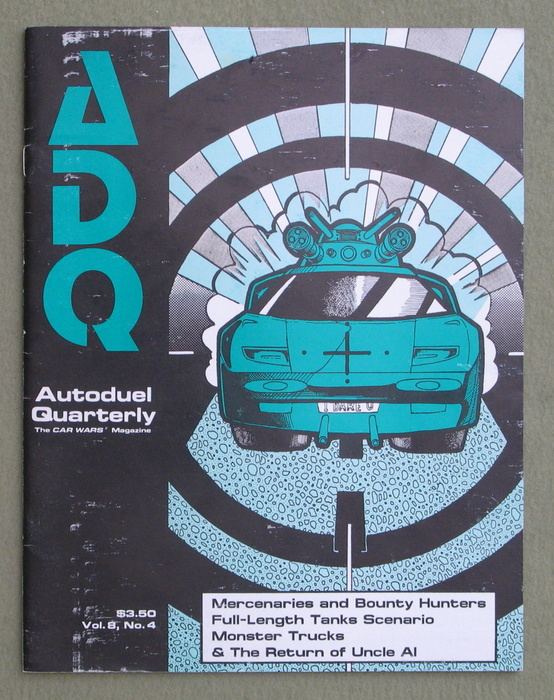 Image for Autoduel Quarterly/ADQ: Vol. 8, No. 4 (Car Wars)