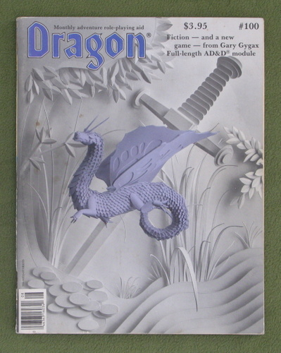 Image for Dragon Magazine, Issue 100