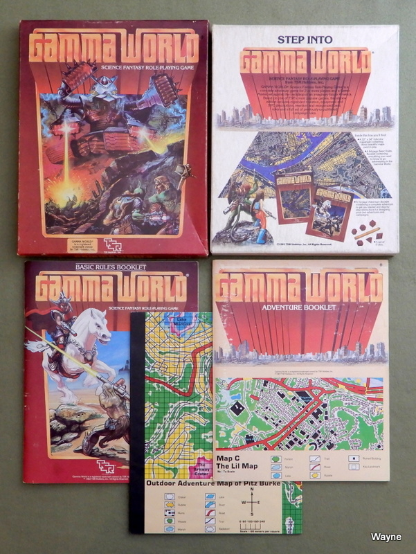 Image for Gamma World: Science Fantasy Role Playing Game (2nd edition)
