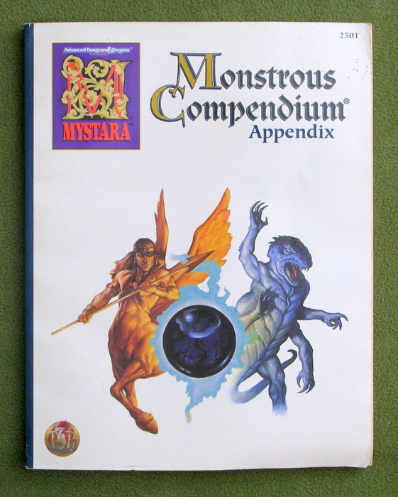 Image for Mystara Monstrous Compendium Appendix (AD&D) - PLAY COPY