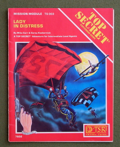 Image for Lady in Distress (Top Secret TS003) - HIGHLIGHTING