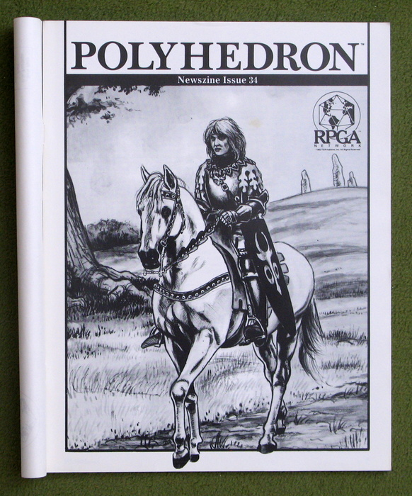 Image for Polyhedron Magazine, Issue 34