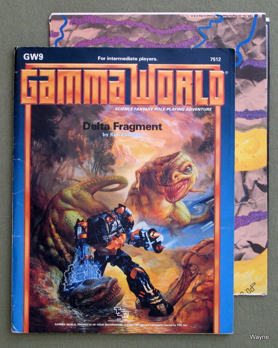 Image for Delta Fragment (Gamma World Module GW9) - PLAY COPY