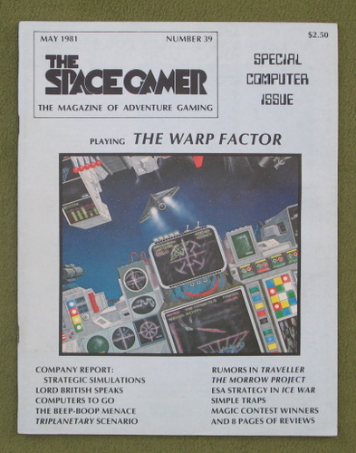 Image for The Space Gamer Magazine, Issue 39