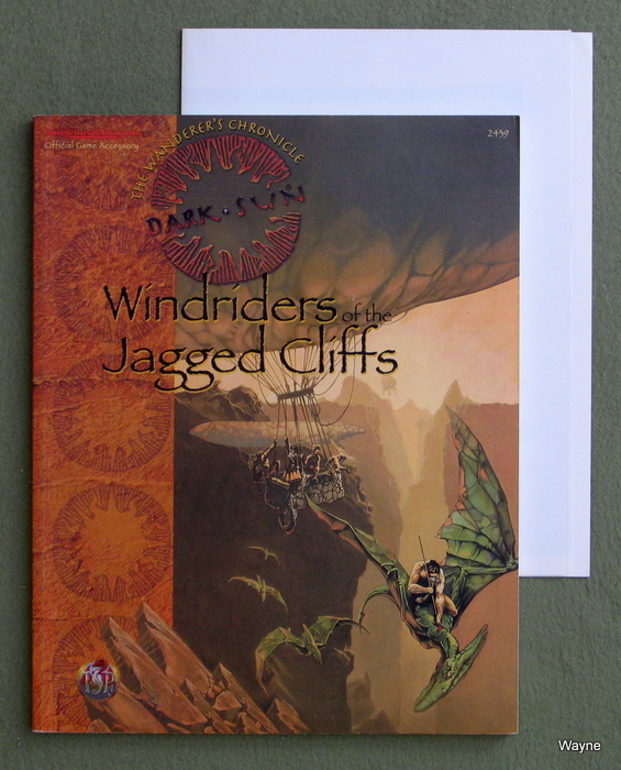 Image for Windriders of the Jagged Cliffs (Dark Sun Adventure/Accessory)