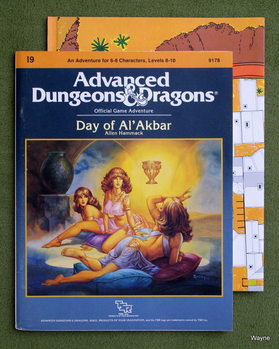 Image for Day of Al'Akbar (Advanced Dungeons and Dragons Module I9)