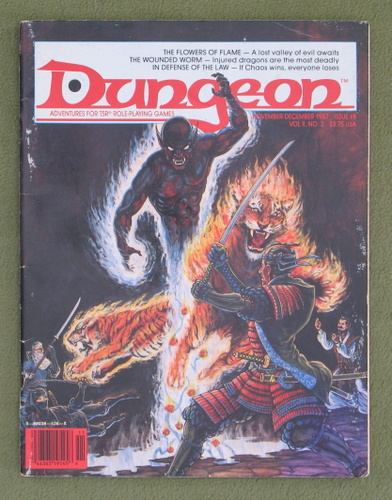 Image for Dungeon Magazine, Issue 8