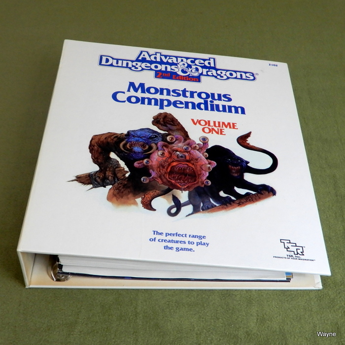 Image for Monstrous Compendium, Volume One (Advanced Dungeons and Dragons, 2nd Edition) + 2 EXPANSIONS