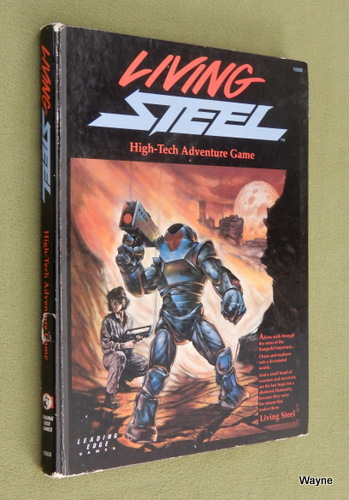 Image for Living Steel: High-Tech Adventure Game
