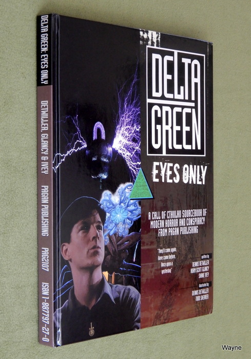 Image for Delta Green: Eyes Only (Call of Cthulhu Sourcebook)