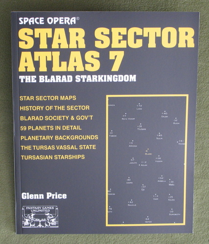 Image for Star Sector Atlas 7: The Blarad Star Kingdom (Space Opera RPG)