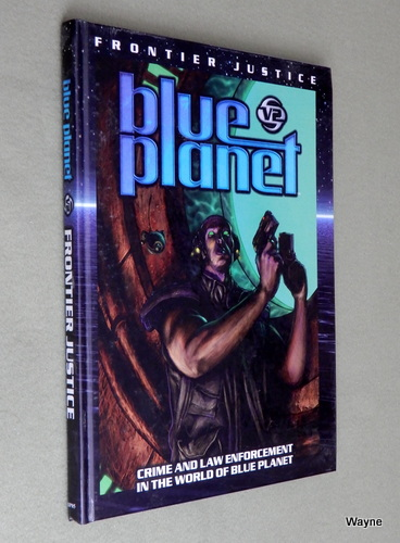 Image for Frontier Justice (Blue Planet)