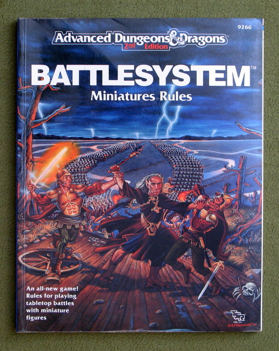 Image for Battlesystem: Miniatures Rules (Advanced Dungeons & Dragons)
