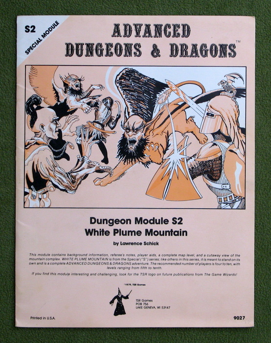 Image for White Plume Mountain (Advanced Dungeons & Dragons module S2)