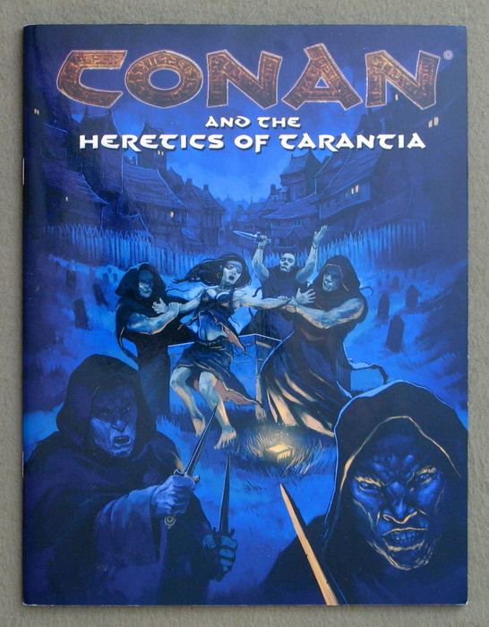 Image for Conan and Heretics of Tarantia (Conan Roleplaying Game)