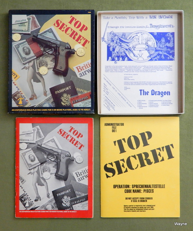 Image for Top Secret Espionage: Role-Playing Game (1st Edition)