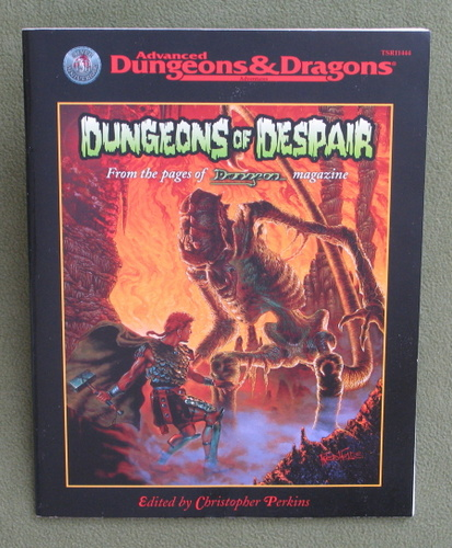 Image for Dungeons of Despair (Advanced Dungeons & Dragons)