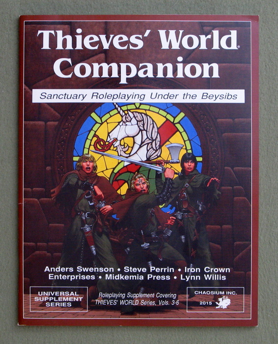Image for Thieves' World Companion: Sanctuary Roleplaying Under the Beysibs - NO MAP