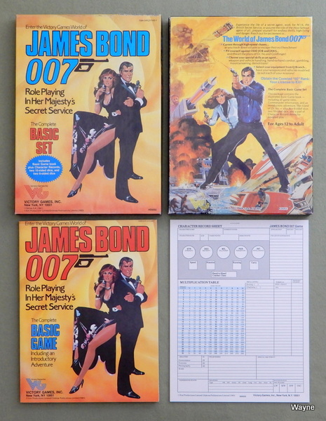 Image for James Bond 007: Role Playing in Her Majesty's Secret Service (Basic Set)