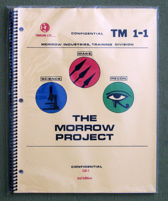 Image for Morrow Project Rulebook (TM 1-1) - 3rd Edition