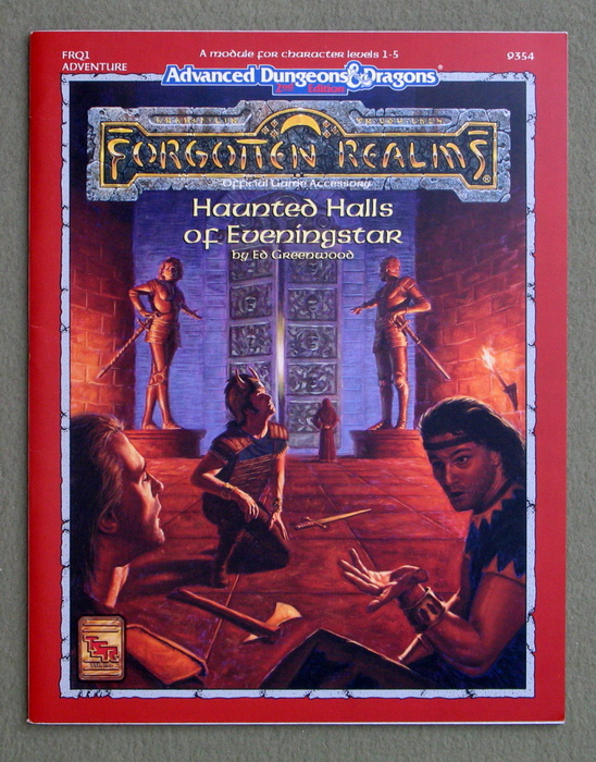 Image for Haunted Halls of Eveningstar (Advanced Dungeons & Dragons: Forgotten Realms Module FRQ1)