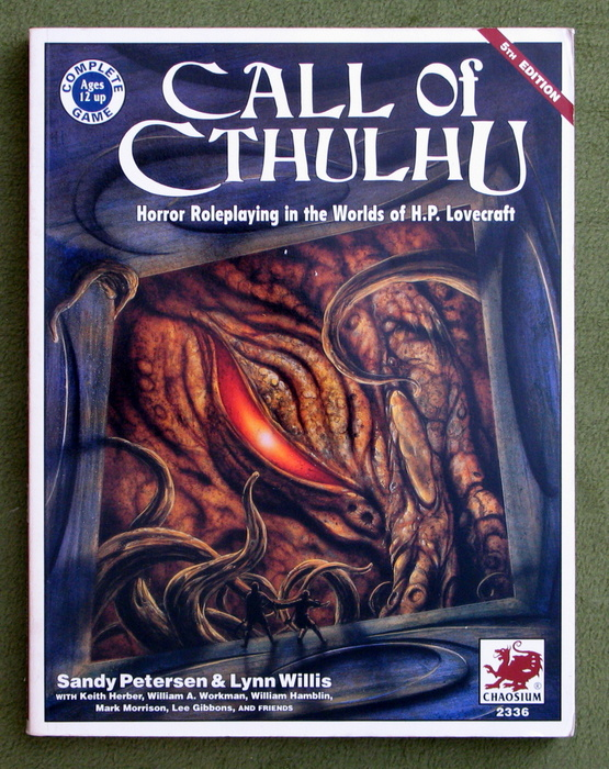 Image for Call of Cthulhu: Horror Roleplaying in the Worlds of H.P. Lovecraft (5th Edition: VERSION 5.2)