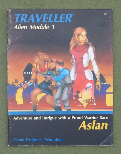 Image for Aslan (Traveller Alien Module 1)