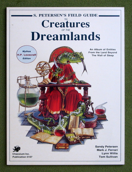 Image for Petersen's Field Guide to Creatures of the Dreamlands (Call of Cthulhu)