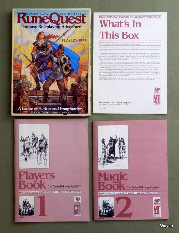 Image for Runequest: Player's Box