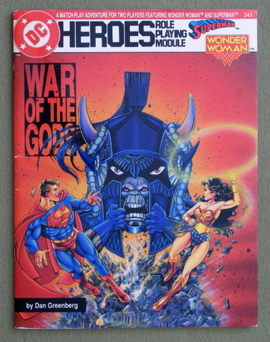 Image for War of the Gods (DC Heroes RPG)