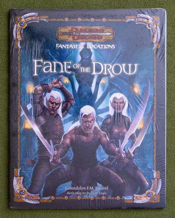 Image for Fantastic Locations: Fane of the Drow: Dungeons & Dragons D20 System
