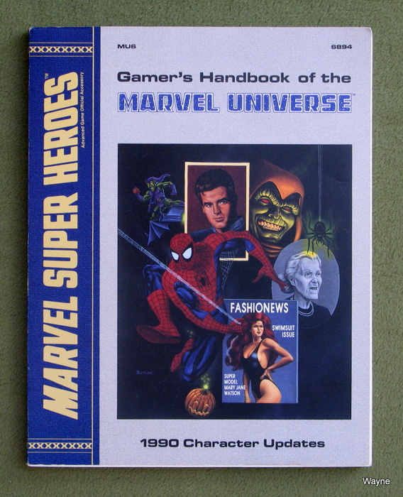 Image for Gamer's Handbook of the Marvel Universe: 1990 Character Updates (Marvel Super Heroes Assessory MU6)