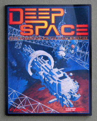 Image for Deep Space: The Interplanetary Supplement for Cyberpunk 2020