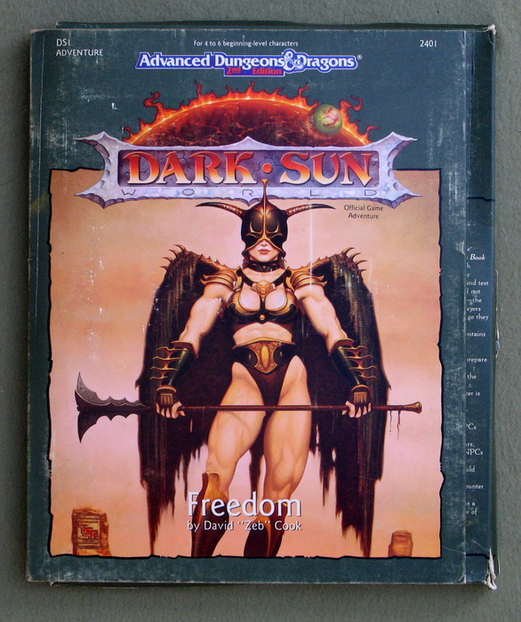 Image for Freedom (Advanced Dungeons and Dragons/Dark Sun Module DS1) - PLAY SET