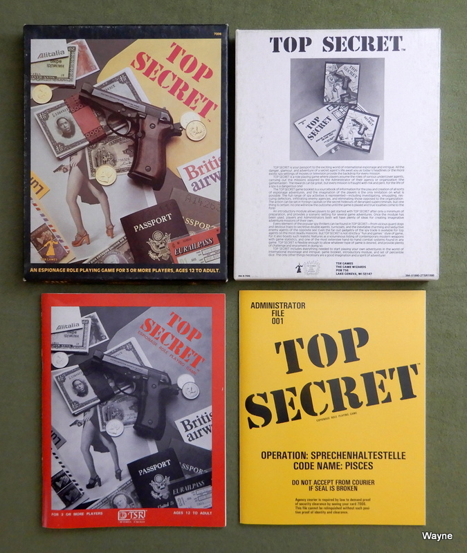 Image for Top Secret Espionage: Role-Playing Game