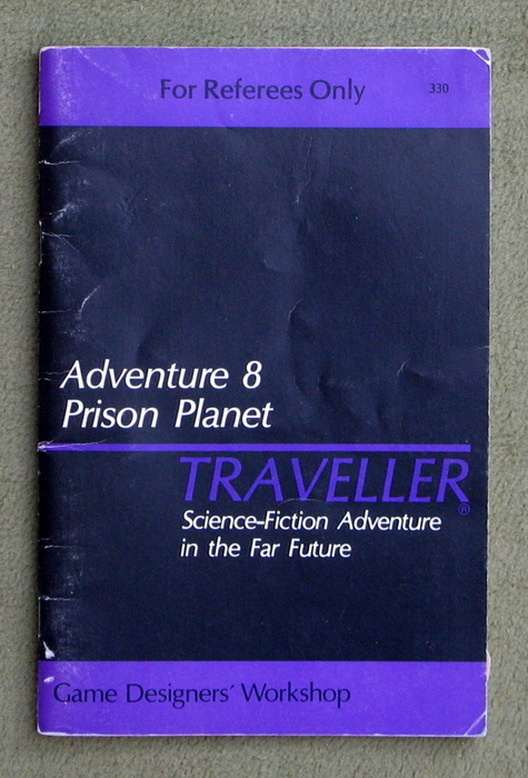 Image for Traveller Adventure 8: Prison Planet - PLAY COPY