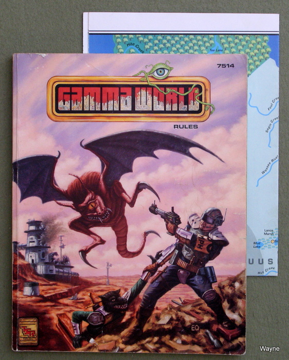 Image for Gamma World Game Rules Book (4th edition)